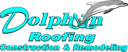 Dolphin roofing logo in wichita ks